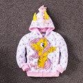 2017 Моя Милая девочка пони Дети Мультфильм Куртка Дети Meninas Jaqueta Верхняя Одежда и Пальто Куртки для весны и осени