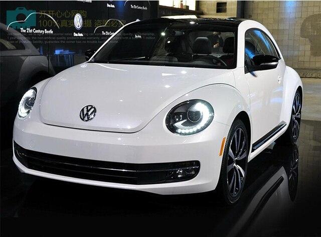 tuning cars Headlight For Beetle Headlights 2013~2018y DRL Running lights beetle taillight Fog lights