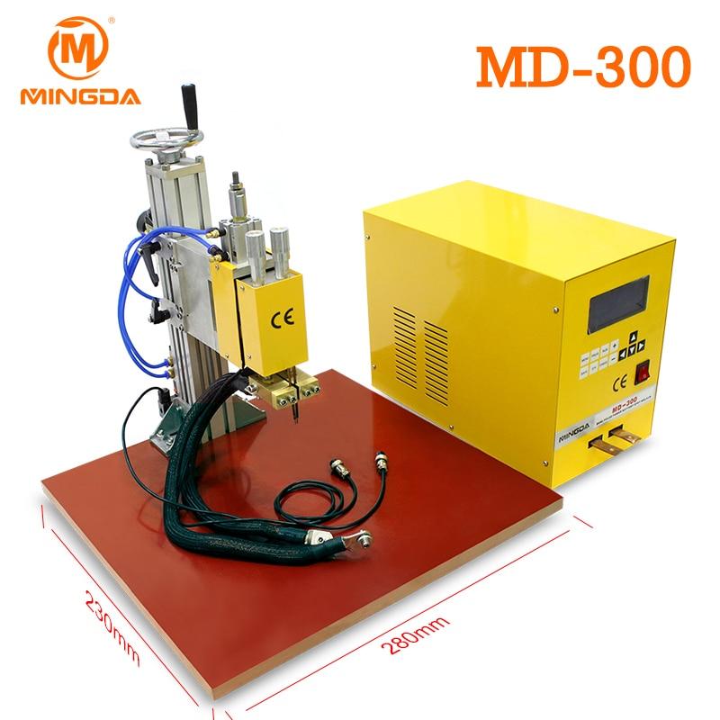 MINGDA MD 300 18650 Spot Welding Machine Good Connection 18KVA 110 220V font b Battery b