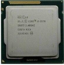 I5 3570 CPU Processor Quad-Core 3.4Ghz /L3=6M/77W Socket LGA 1155 Desktop CPU