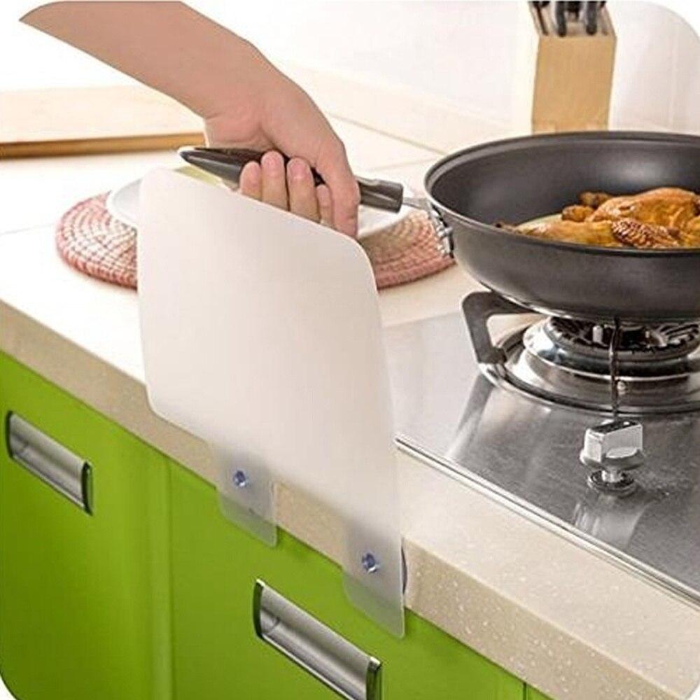 Hot 1 pcs high qualtiy kitchen sink wash dishes prevent for Splash board kitchen