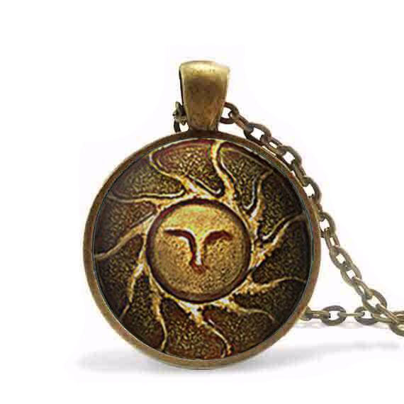 Heirs of the Sun Dark Souls II necklace apllo sun god jewelry ...