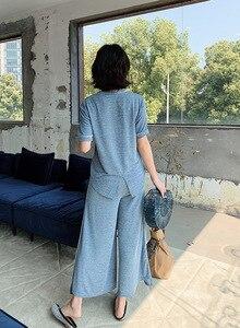Image 5 - Nouveau, vêtement ample grande taille, deux pièces, été 19 ans, nouveau, pour la maison