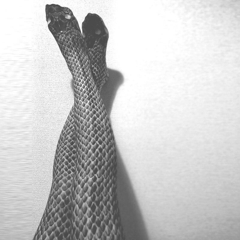 Sexy Printing Fitness Leggings Women Fashion Polyester Slim Pants Snake Skin Push Up Keep Slim Women Legging