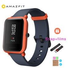 Глобальная версия гарантия 1 год XIAOMI Huami Amazfit Bip Для Мужчин's Для женщин IP68 Водонепроницаемый Wi-Fi умные часы gps Gloness Smartwatch