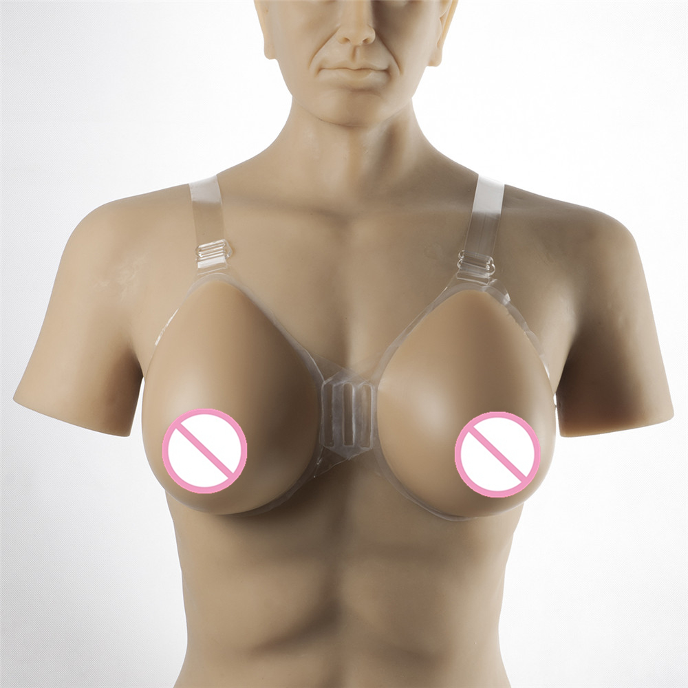 Realistic Breast Form 1800g/pair Drag Queen Shemale Crossdresser Silicone Breasts Strap-On Artificial Fake Boobs 1200g dd cup boobs for drag shemale transgender prosthetic breasts cups for dresses silicone fake breast