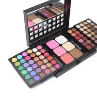 POPFEEL Professional 3 Layer Eyeshadow Palette Set 72 Shimmer Eye shadow Blush Highlighting Powder Makeup Eyeshadows Cosmetics