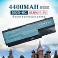 4400 mah batería del ordenador portátil para acer travelmate 7330 7230 7530 7530g 7730 7730g para emachines e510 e520 g420 g520 g620 g720