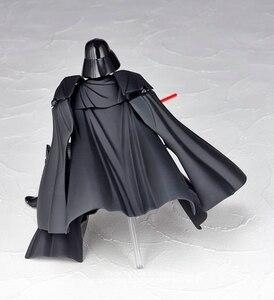 Image 3 - Disney Star Wars Darth Vader 16cm mini Action Figure Anime Dekoration Sammlung Figurine mini puppe Spielzeug modell für kinder geschenk