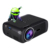 Android 4.4 Miracast Airplay Projetor 1800 Lumens Mini Projetor 854*480 Suporte Resolução de 1080 P de Vídeo para Cinema Em Casa-preto