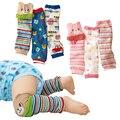 Просто люблю грелки ноги младенца милый ребенок наколенники Kds гетры упаковка из носочки для новорожденных 3-пар