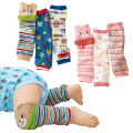 Just Love Baby Leg Warmer Cute Baby Knee Pads Kds Leg Warmers Pack of 3-Pairs