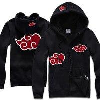 NARUTO Hoodies Coat Jacket Hatake Kakashi Akatsuki Sharingan Hoodies Sweatshirts Cardigan