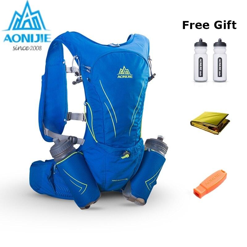Sac à dos léger AONIJIE hydratation pour vessie 3L pour la conduite randonnée en cours d'exécution Camping Marathon Sports de course