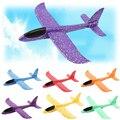 Большой игрушечный самолет из вспененного этиленвинилацетата, 48 см