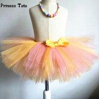 Kids Girls Tulle Tutu Skirt Fluffy Girls Skirts Birthday Party Dance Tutus Baby Toddler Enfant Ballet