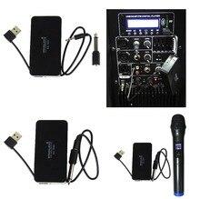 STARAUDIO SG-1000 1 Pc PA DJ Profissional Microfone de Mão Sem Fio Universal com Entrada USB
