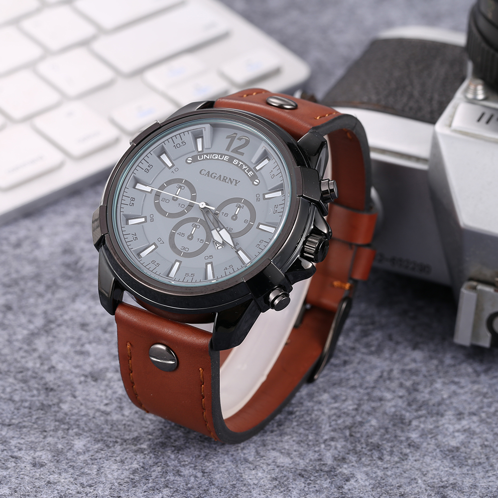 cool big case watch men golden analog quartz mens watches military style watch man free shipping dz watches wholesale free shipping (4)