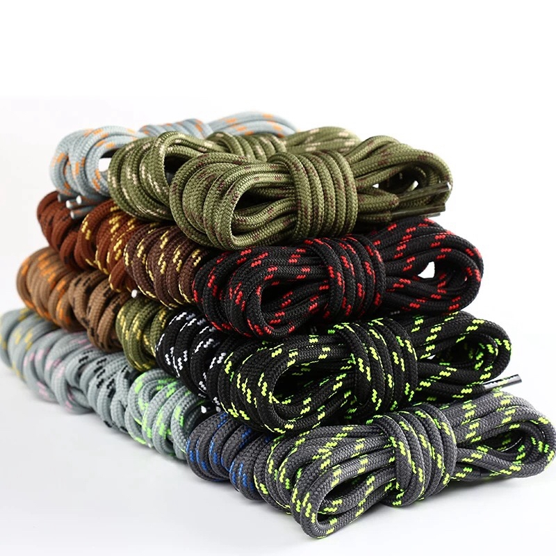 1Pair Outdoor Shoelaces Sport Casual Round Shoes Lace Hiking Slip Rope Shoe Laces Sneakers Boot Shoelace Strings1Pair Outdoor Shoelaces Sport Casual Round Shoes Lace Hiking Slip Rope Shoe Laces Sneakers Boot Shoelace Strings