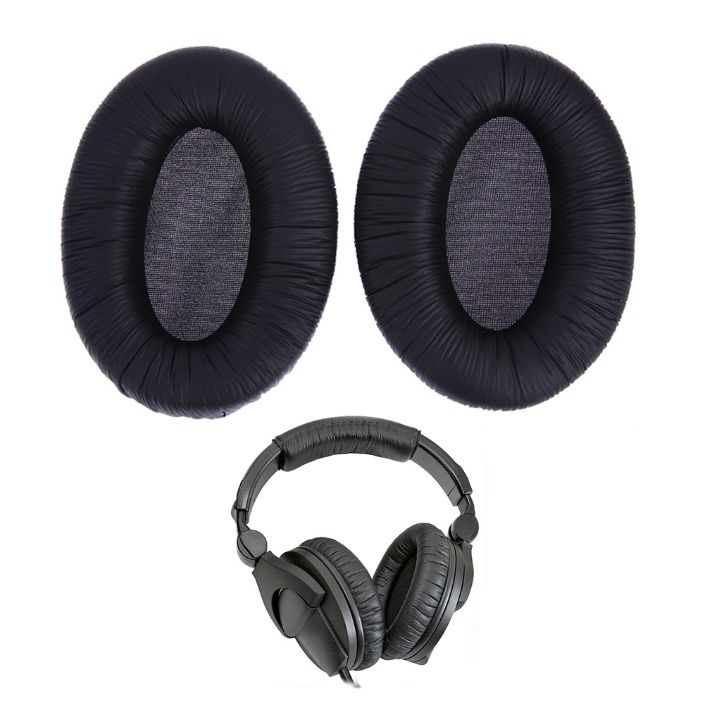 1 pair earpads Factory Price Replace earphone accessory Ear Pads Cushion for <font><b>Sennheiser</b></font> <font><b>HD280</b></font> HD 280 <font><b>Pro</b></font> Gaming Headphones image
