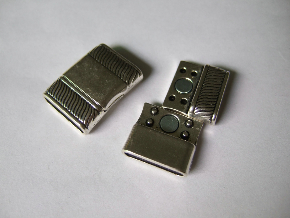en m/étal durable Bretelles porte-jarretelles B/éb/és Clips support Artisanat du cuir pour la cr/éation de DIY R/éparation pi/èces accessoire/ /Argent 25mm