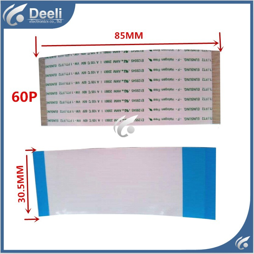 1pcs Good Working New Original E129545 AWM 20861 AWM 20706 105C 60V 60P = AWM 20706 60P 85mm Long