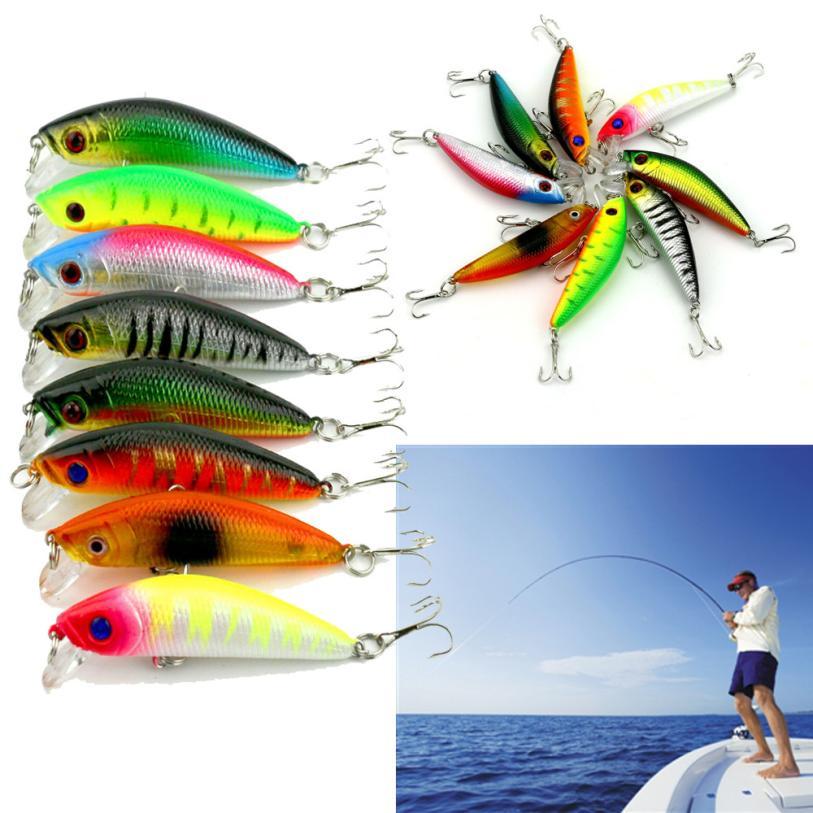 AT 8.1g 7cm lake Fishing Lure lure accessories shone  Sea Fishing Bait fishing lures china MAR0329