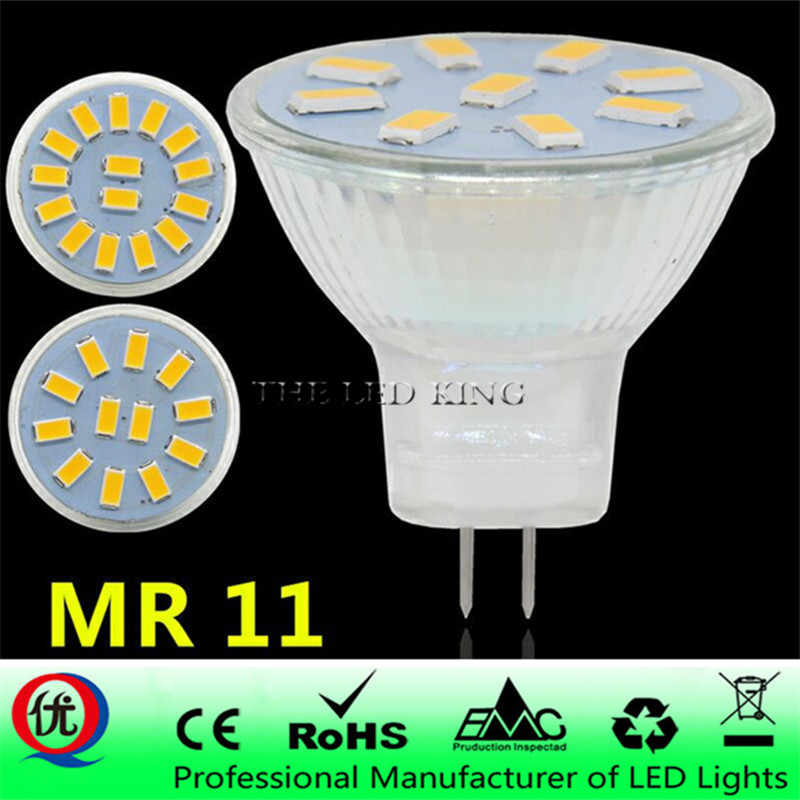 new 12 V AC/DC 5730 MR11 bombilla led 5W 7W LED GU4 luz de la lamp para la lamp de cristal mr11 luces lamp