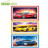 5D DIY Diamond Painting Car Embroidery Cross Stitch Sports Car Rhinestone Mosaic Painting Decor Christmas Gifts