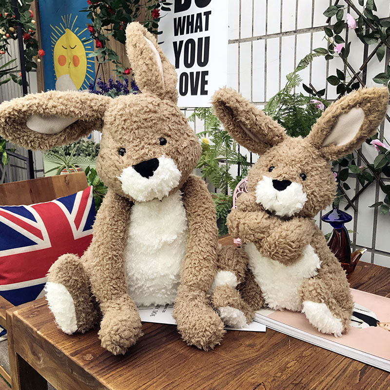 Candice guo plush toy stuffed doll cartoon animal model forest rabbit cute hare bunny lover baby girl birthday present gift 1pc mini kawaii plush stuffed animal cartoon kids toys for girls children baby birthday christmas gift angela rabbit metoo doll