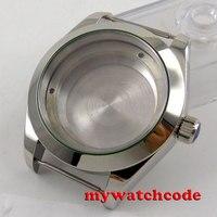 40mm 316L steel silver automatic Watch Case fit ETA 2824 2836 MOVEMENT 110