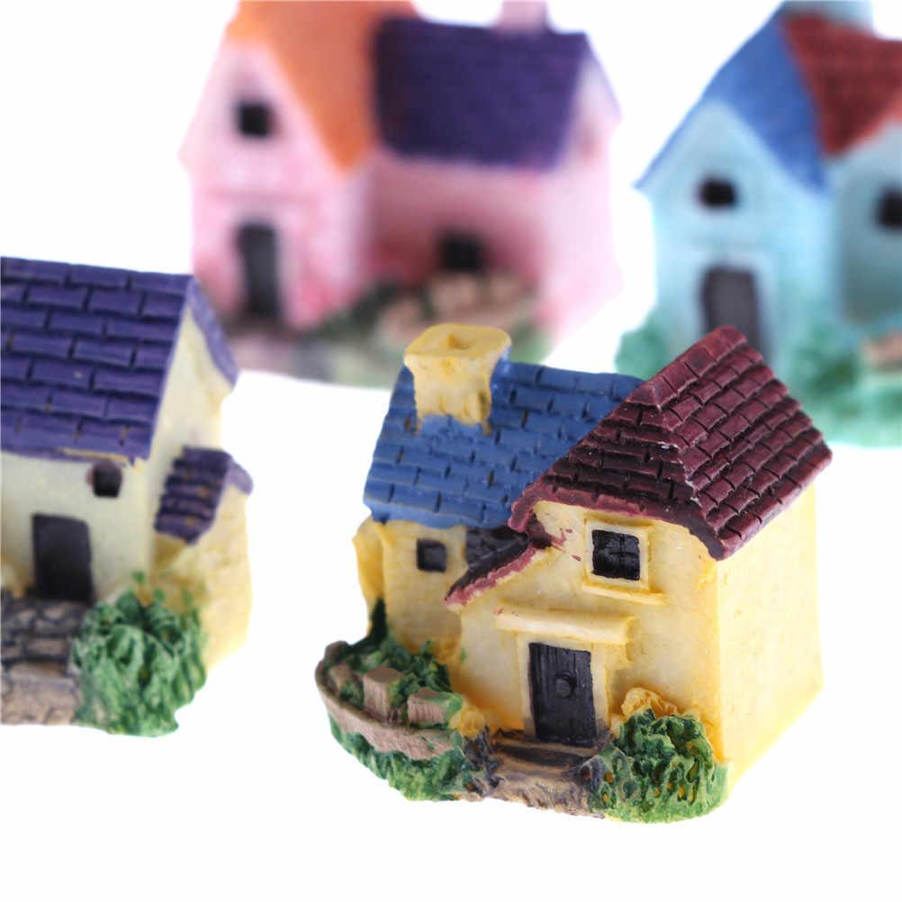 1 шт. Деревянный Кукольный дом, уникальный большой размер дом игрушка с мебели DIY кукольный домик Миниатюрная модель головоломка