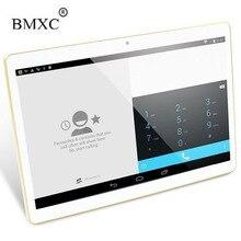 BMXC 10 pulgadas Original 3G Tarjeta SIM Llamada de Teléfono del Androide 5.1 Marca Quad Core WIFI GPS FM Tablet pc 32 GB de la tableta ROM pcs