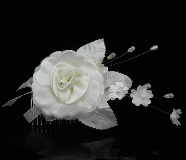 Jewelry & Accessories Fabric Silk Flower Hair Accessories Hair Pins Wedding Prom Bridal Jewelry Jewelry Sets & More Industrious 10 Pcs/lot Handmade Girls Woman Flower Hair Combs