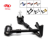 FX CNC Brake Clutch Lever Protective Guards Bar Ends Motorcycles 7 8 22mm Handlebar Protector CNC