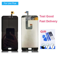 For Umi Plus LCD Display Touch Screen Assembly Original Tested Umi Plus E Assemble LCD Screen
