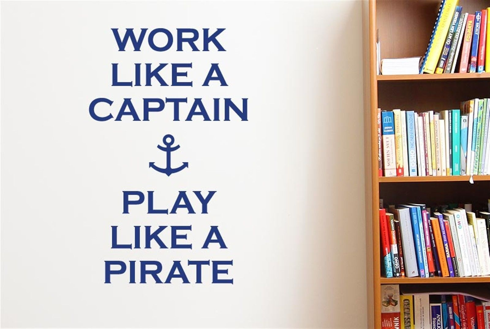 compare prices on pirate decals online shopping buy low price work like a captain play like a pirate wall stickers decals art quotes free shipping