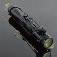 Air Rifle C3 9X40 Hunting Rifle Scope Tactical Optics Scope Air Gun Hunting Scope Red /Green Dot Sight