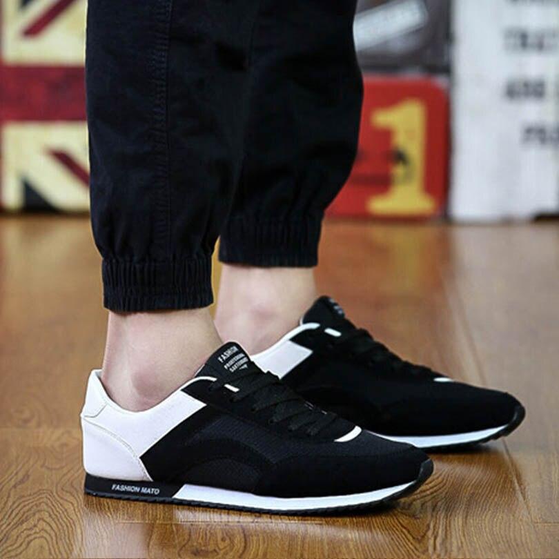 New SpringMen Fashion Casual Shoes Outdoor Walking Keeping Balance Casual Shoe Classic Breathable Mesh Zapatillas Deportivas