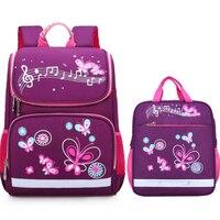 kids bag girls children backpack purple pink school bags orthopedic children waterproof kids bags school backpack 1 grade