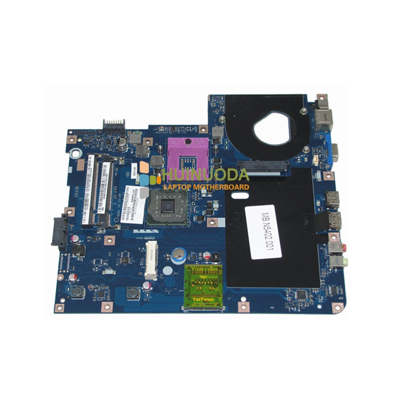 MBN5402001 KAWF0 LA-4851P Laptop Motherboard for Acer E525 E725 5732Z Intel GL40 DDR2 Mainboard Tested warranty 60 days