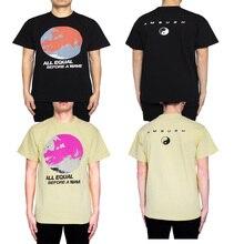 19SS AMBUSH T Shirt high quality 1:1 real tags Tsunami Wave pirnt Harajuku top tees streetwear hip hop AMBUSH TShirt men women
