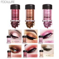FOCALLURE 12 Color Glitter Eye GlitterCosmetic Makeup Diamond Lips Loose Makeup Eyes Pigment Glitter Diamond Eyes Pigment Powder