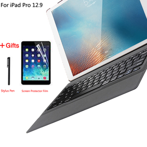 Image 1 - Keyboard Case Voor Apple Ipad Pro 12.9 2015 2017 2018 2020 1st 2nd 3rd 4th Cover Ultra Slim Bluetooth Toetsenbord pu Leer Shell