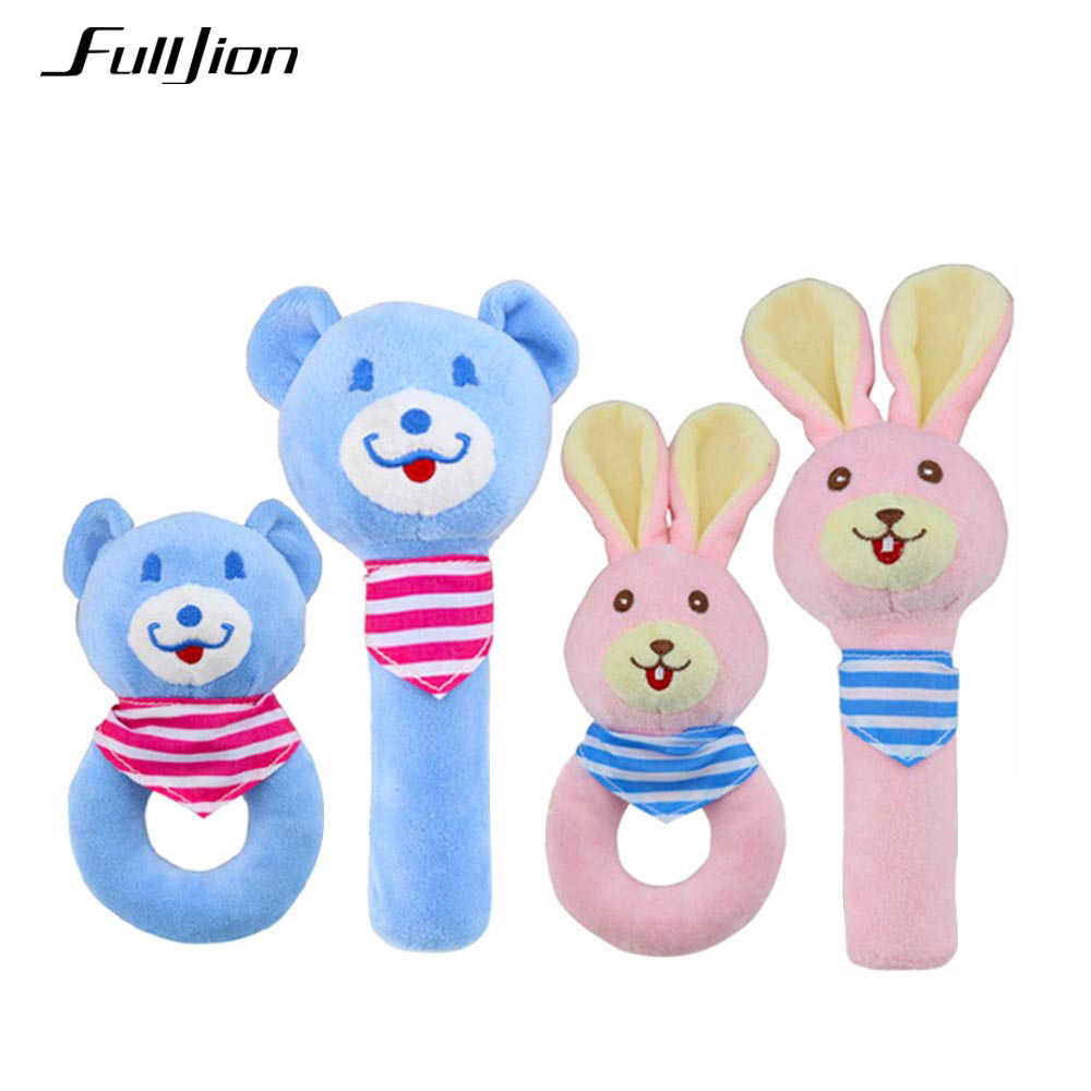 1a6abf13f000 Fulljion Baby Rattles Mobiles Handbell Toddler Toys Soft Christmas Crib  Baby Animals Rattles Educational Toys Infants 0 12 Month