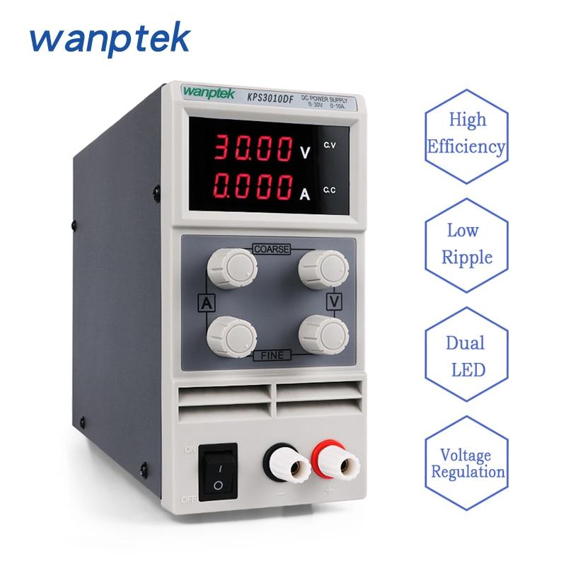 Wanptek Adjustable Switch DC Power Supply 3/4 digits LED Digital display  KPS3010D/3010DFWanptek Adjustable Switch DC Power Supply 3/4 digits LED Digital display  KPS3010D/3010DF