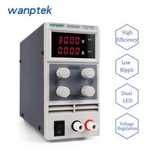 2017 High quality Wanptek KPS3010DF 0-30V/0-10A 110V-230V 0.1V/0.001A Digital Adjustable mini Switch DC Power Supply mA display цена в Москве и Питере