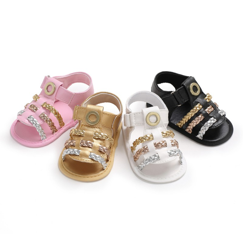 Baby Girl Children's Sandals For Baby Girl Shoes Fashion Mixed Summer Casual Colors Cute Soft
