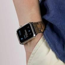Luxury Wood Watch Bracelet For Apple Watch Band 42mm
