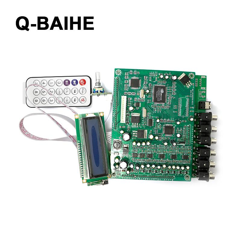 ZY-DTS8 DTS AC3 7.1 Channel Decoders Decode Board With Tone Control цена
